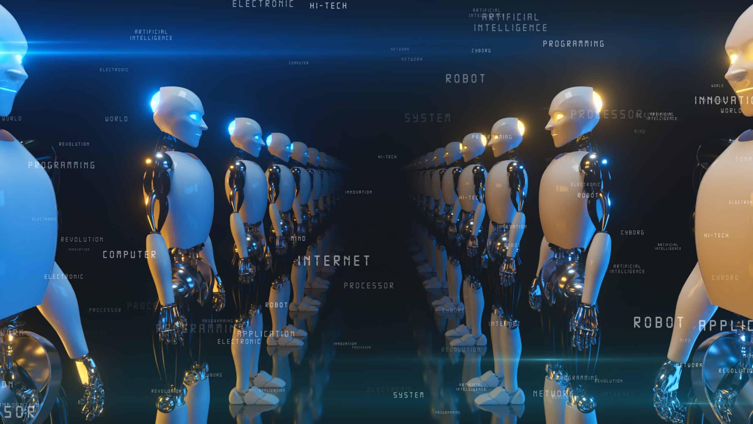Robotics, Robot vision, Robot sound, Robot action, Robotic vision sound