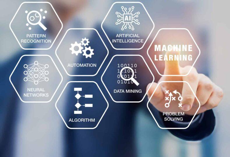 machine learning, technologies, business leaders, data, algorithms