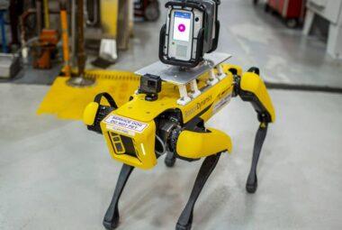 Robot Spot COVID robotics technology