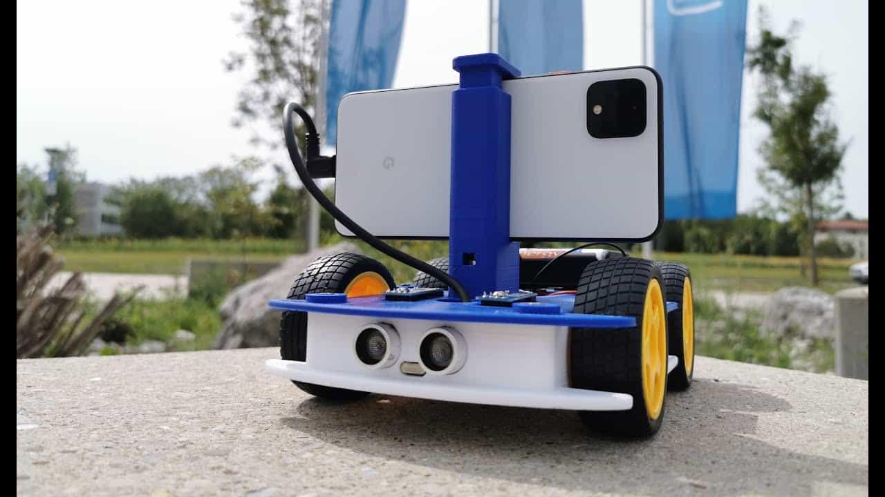 intel Mobile robots, smartphones, OpenBot, Robot, Robotics